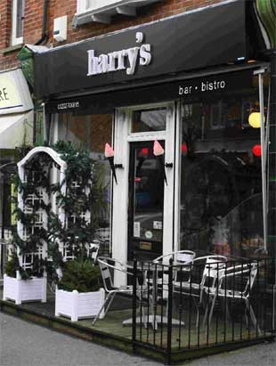 Ambience and ample portions at Harry's in Canford Cliffs