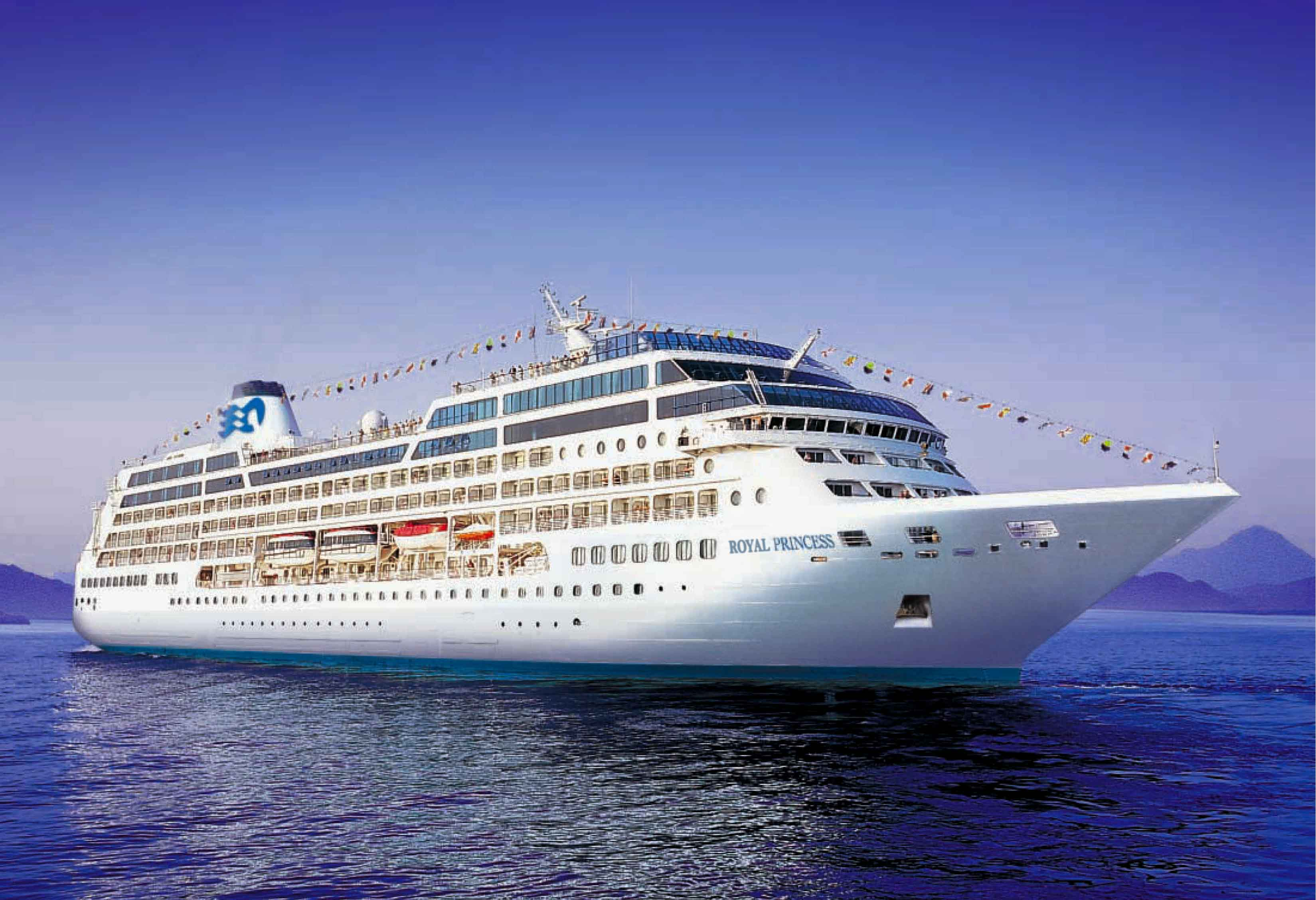 Cruise the Mediterranean: trip on the Royal Princess