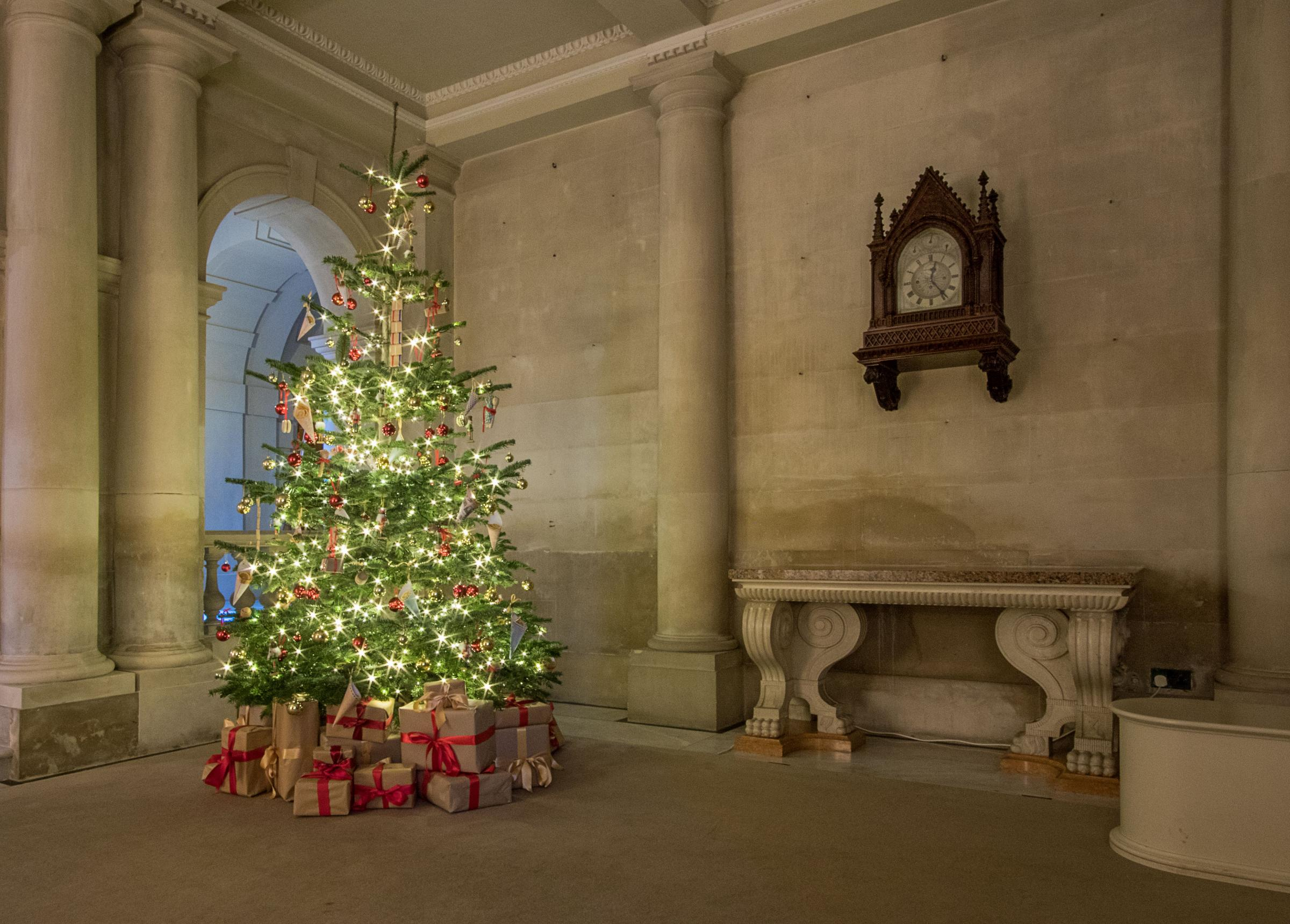 Kingston Lacy at Christmas. PHOTO: National Trust, Stan Maddams