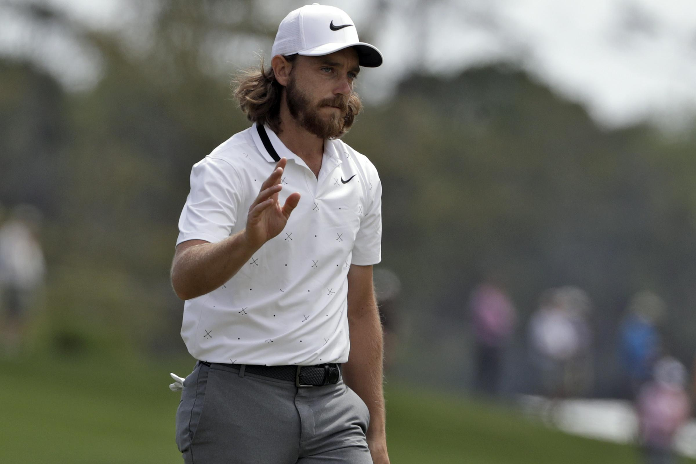 Tommy Fleetwood set the clubhouse target with an opening 65 in the Players Championship
